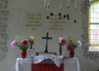 Jargenow-Altar-geschmückt