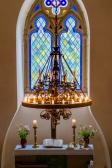 Altar Fenster Leuchter