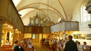 Kirche Görmin Einweihung