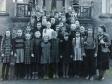 Jubelkonfirmation Schulibilder 1953 - 4.+5. Klasse mit Lehrerin Gisela Bartels-c